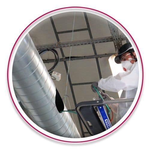 Nettoyage réseau aéraulique
